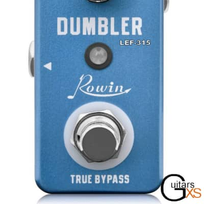 Rowin LEF-315 DUMBLER Dumble Amp Simulator Overdive and Distortion Ships Free