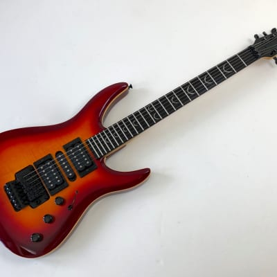 1994 Dean 90 Super Strat Red Guitar DS90 / DS-90 - Made in
