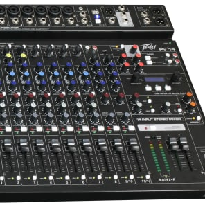 Peavey PV 14 AT 14 Channel Mixer