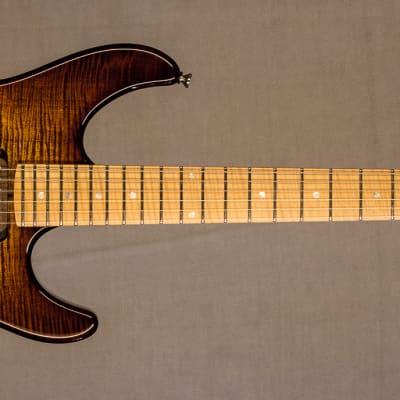 Fibenare Guitars Roadmaster FB w/Hard Case - Tobacco Burst / Flame Maple for sale