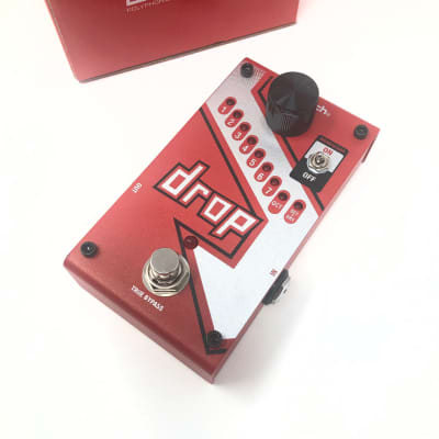DigiTech The Drop - Compact Polyphonic Drop Tune / Pitch-Shifter Pedal