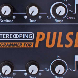 Stereoping Programmer Midi Controller for Waldorf Pulse 1 Vintage Synth New - In Stock