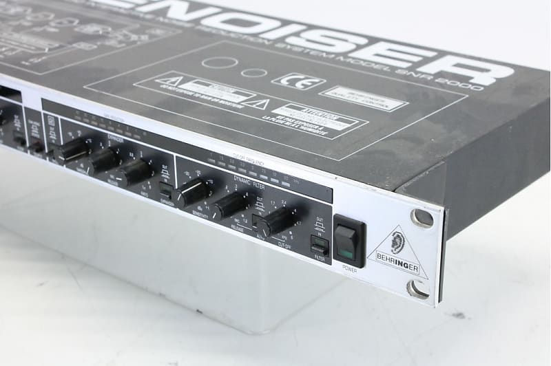 behringer noise reduction system model snr 2000 reverb. Black Bedroom Furniture Sets. Home Design Ideas
