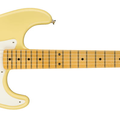 Fender Eric Johnson Thinline Stratocaster, Maple Fingerboard, Vintage White 0113602741 Out of Stock by Fender for sale