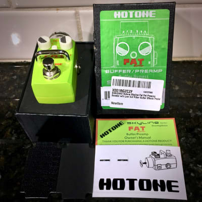 Hotone Skyline Fat Buffer/Preamp Mini-Pedal for sale