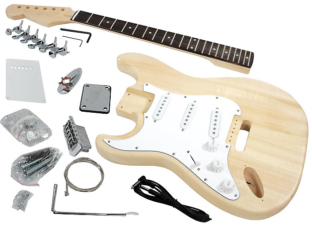 Solo STK-1L DIY Electric Guitar Kit | SOLO Music Gear | Reverb