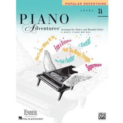 Piano Adventures: A Basic Piano Method - Popular Repertoire Book Level 3A