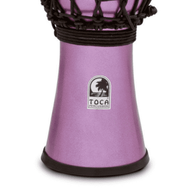 "Toca 7"" Colorsound Djembe - Metallic Violet"