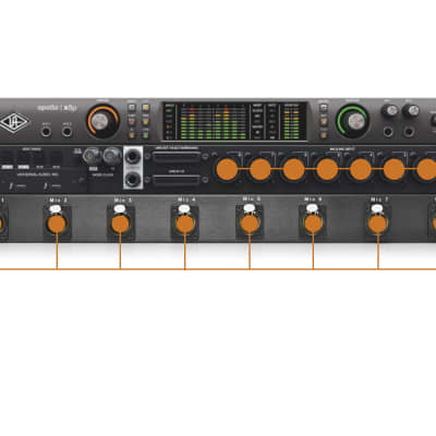 Universal Audio Apollo x8P Mic Input Panel