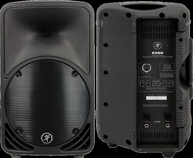 mackie c200 200w 10 passive speaker la music reverb. Black Bedroom Furniture Sets. Home Design Ideas