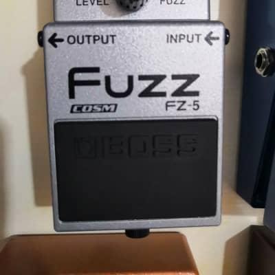 Boss Fuzz Fz-5 Gray