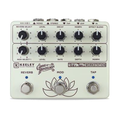Keeley Electronics EH Verb O Trem Reverb & Tremolo Workstation pedal