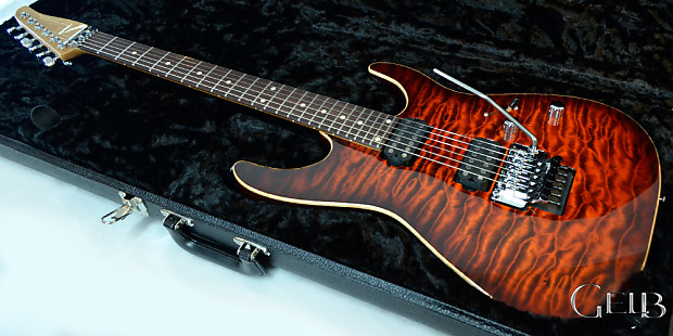Tom Anderson Angel Quilt Maple Top on Mahogany Electric | Reverb : quilt top guitar - Adamdwight.com