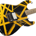 EVH '79 Bumblebee Tribute Relic Black with Yellow Stripes IN STOCK