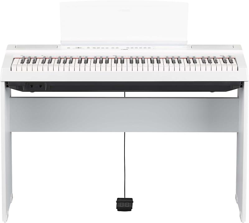 yamaha l 121 furniture stand for p 121 digital piano white reverb. Black Bedroom Furniture Sets. Home Design Ideas