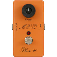 MXR Script Phase 90 Reissue Guitar Pedal With LED