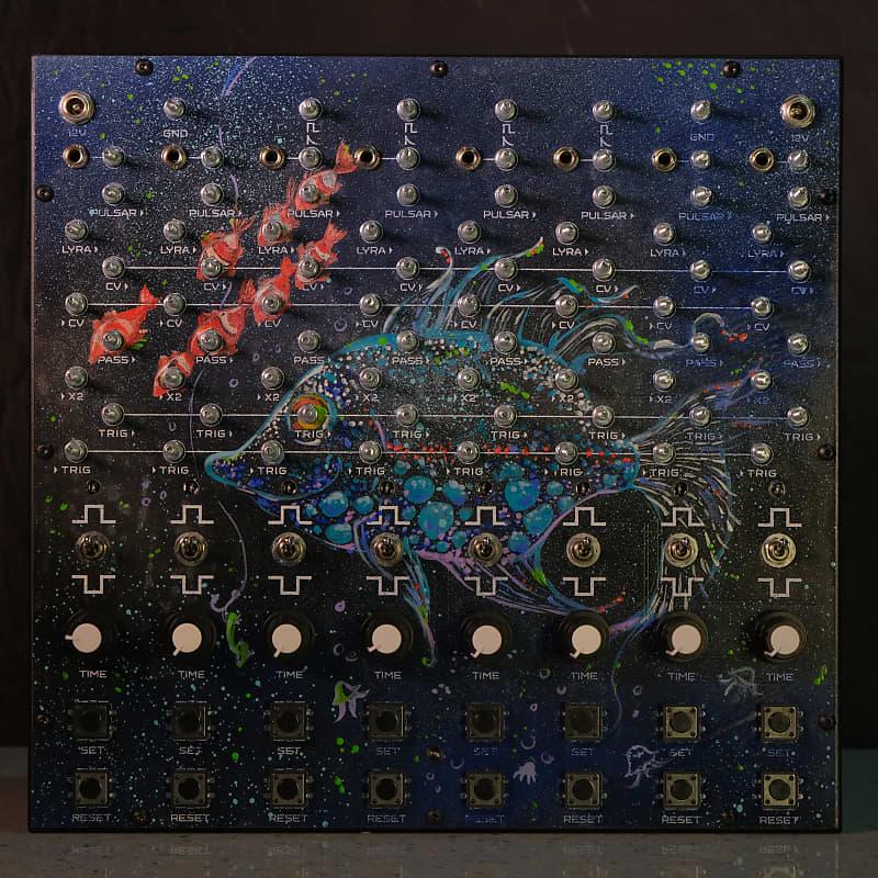 Soma Laboratory Ornament-8 Custom Magic Fish Graphic