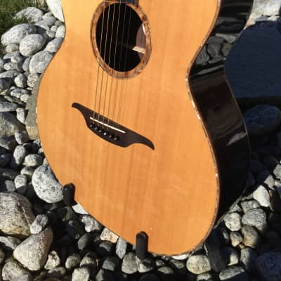 Unique Showcase Marc Boluda Small Jumbo Acoustic Guitar (2011) - Perfectly Mint Condition for sale