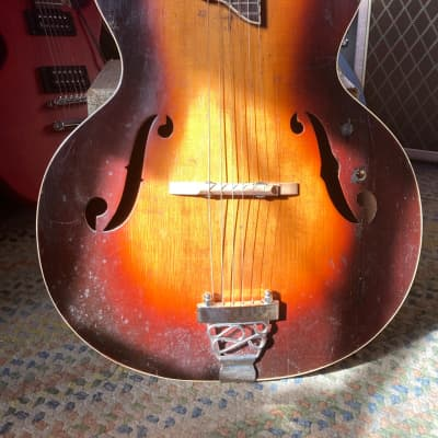 Slingerland Songster Archtop  1940s? Sunburst for sale