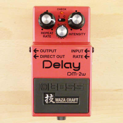 Boss DM-2W Waza Craft Analog Delay - Vintage Reissue Guitar Effects Pedal - Minty Condition