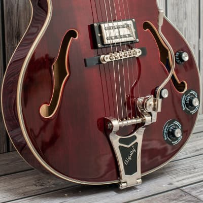 Epiphone  Emperor Swingster Wine Red CLEARANCE for sale