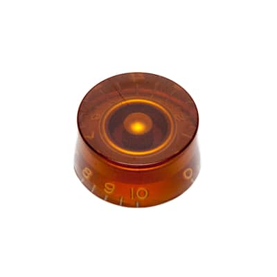 Hosco Speed Control Knob Gibson Style (Amber, Metric (mm)) for sale