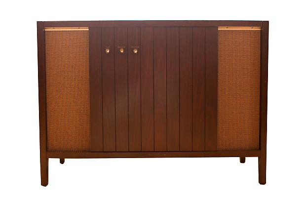 Magnavox Retro Mid Century Console Stereo // Repurposed Vintage Furniture  1954