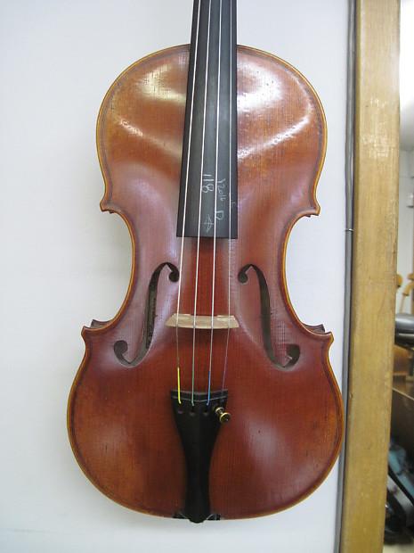 """Franz sandner 3103s 16"""" viola 2003 fully-carved, solid   reverb."""