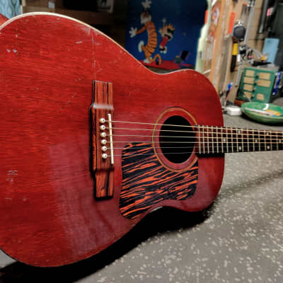 The Definition of Mojo! 1960ish Favilla F-5 - Resurrected All-Solid Wood USA Made Rarity for sale