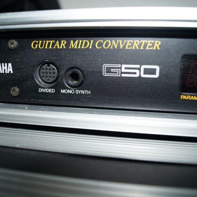 Yamaha G50 MIDI converter
