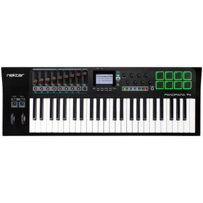 Nektar Panorama T4 USB and MIDI Keyboard Controller, 49-Key