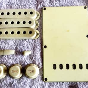 TOG/Real Life Relics accessory kit for fender strat Mint Green