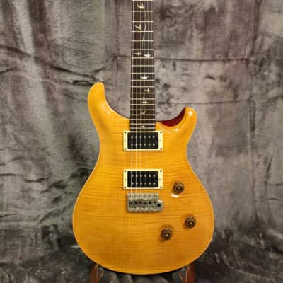 Paul Reed Smith Custom 24 2005 Vintage Yellow 20th Anniversary with case image