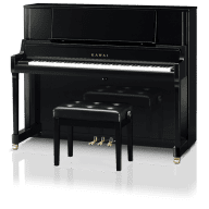 Kawai K400JEP 122 cm upright piano Ebony polish (K-400JEP)
