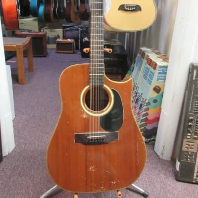Yamaki Deluxe Western 12 String Acoustic Guitar Used for sale