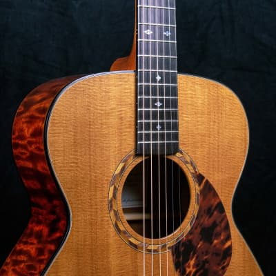 Ruben Guitars The Distinction - Orchestral  Quilted Mahogany for sale