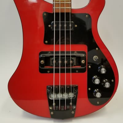 Rickenbacker Vintage 1988 4003Red Electric Bass Guitar W/Case for sale