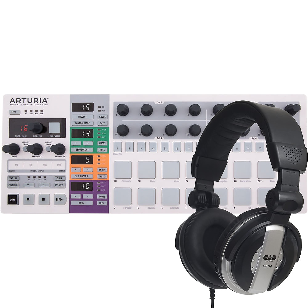 Arturia Beatstep MIDI Controller /& Sequencer with Headphone NEW