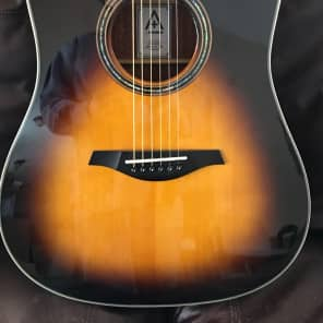 Hohner A& AS355CE 2017 Tranlucent Sunburst Spruce Gloss for sale