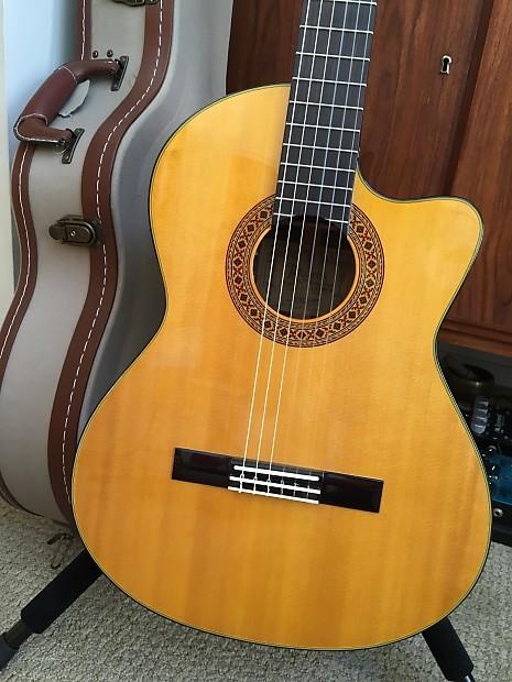 Alvarez Yairi Cy128ce Classical Acoustic Electric Reverb