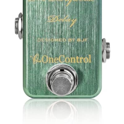 One Control Sea Turquoise Delay Electric Guitar Effect Pedal BJF Series for sale