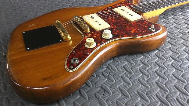 Sweet Vintage 1964 Fender Jazzmaster Pro Hardtail Conversion Stop Tailpiece  Flamey Neck Sustainiac
