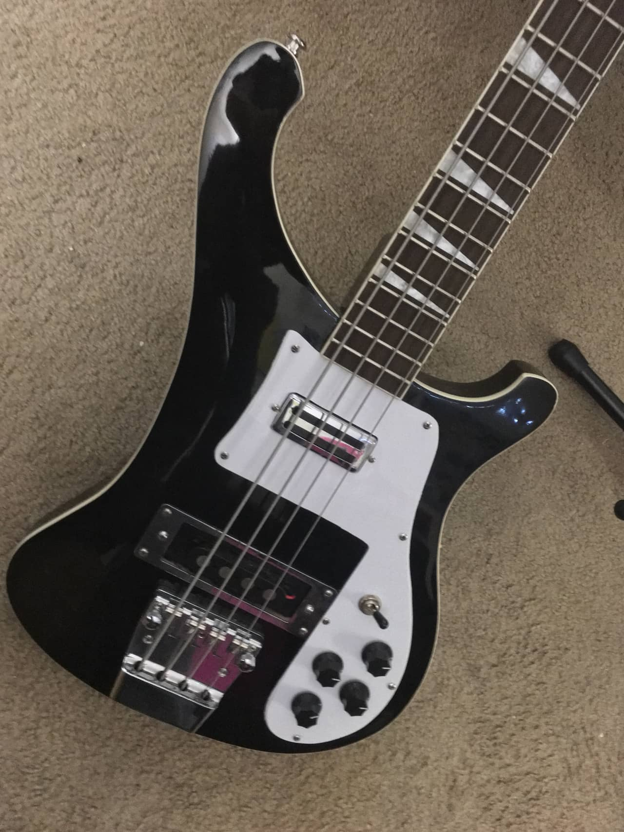 China 4 0 0 3 Bass Guitar Black | Reverb