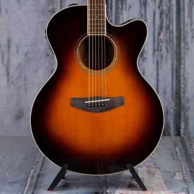 Yamaha CPX600 Medium Jumbo Cutaway Acoustic/Electric, Old Violin Sunburst