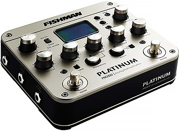 fishman platinum pro eq guitar bass preamp eq di w xlr out reverb. Black Bedroom Furniture Sets. Home Design Ideas