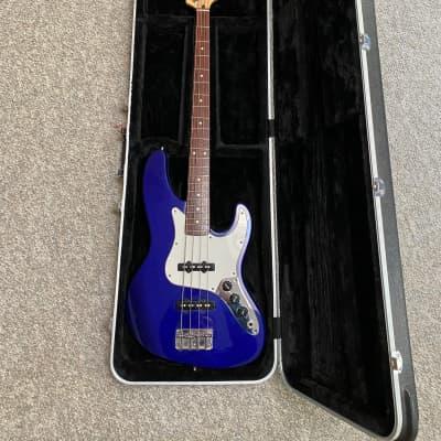 Fender Jazz Bass 1993 Midnight Blue CASE INCLUDED