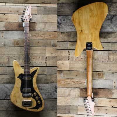 DeMont USA Made Goldfinch - Cherry Neck, Walnut Fretboard, Poplar Body - All Cut in Illinois! w/ bag
