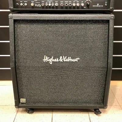 "Hughes & Kettner Switchblade 4-Channel 100-Watt 4x12"" Programmable Guitar Amp Half Stack"