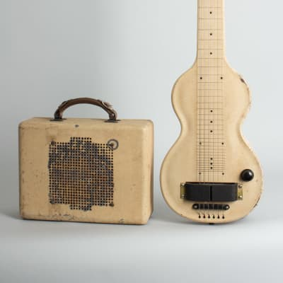 Rickenbacker  Model 59 Lap Steel Electric with Matching Amplifier Guitar (1938), ser. #E 1087, NO CASE case. for sale