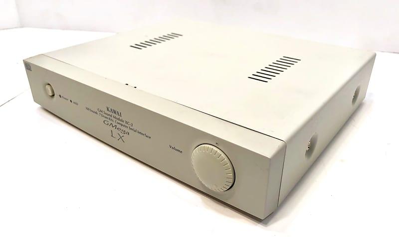 Kawai GM general midi sound module synthesizer XC-3 1980s White
